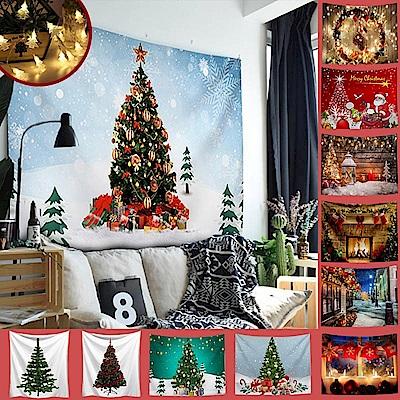 (送1.5米星星燈)半島良品 聖誕系列北歐風裝飾掛布(16款) [限時下殺]