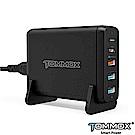 TOMMOX旅充系列4Pro USB-C PD 3.0及USB QC埠充電器(75W)-黑