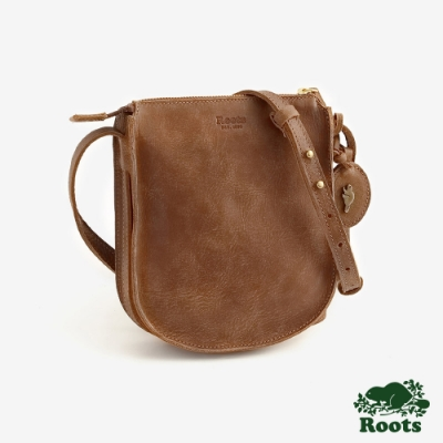 ROOTS 配件- 復古朗伯側背包-棕