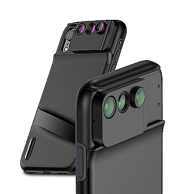 iStyle iPhone XR 6.1吋 三合一雙鏡頭手機殼