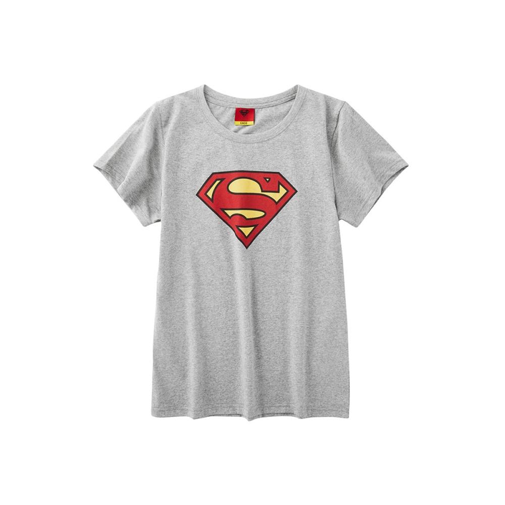 CACO-超人標誌短T-情侶款-(三色)-女【TDC004】