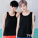 T&G束胸 2IN2外穿系列-舒適薄款假兩件排鉤束胸(黑)