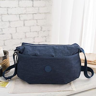 COUNT DUCK 美系悠活輕量百搭實用款側背包-CD-008-海軍藍