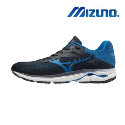Mizuno WAVE RIDER 23 (4E) 男慢跑鞋 超寬楦