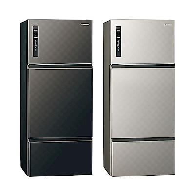 [無卡分期12期]Panasonic國際牌 三門 變頻 電冰箱 NR-C489TV