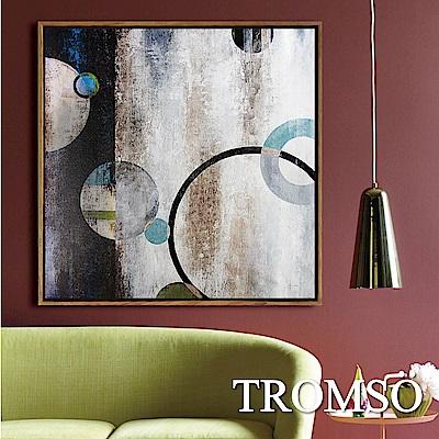 TROMSO北歐風尚板畫有框畫-光環格調60X60CM