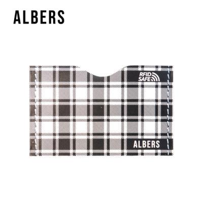 ALBERS RFID安心防盜刷信用卡防護套(格紋6入)