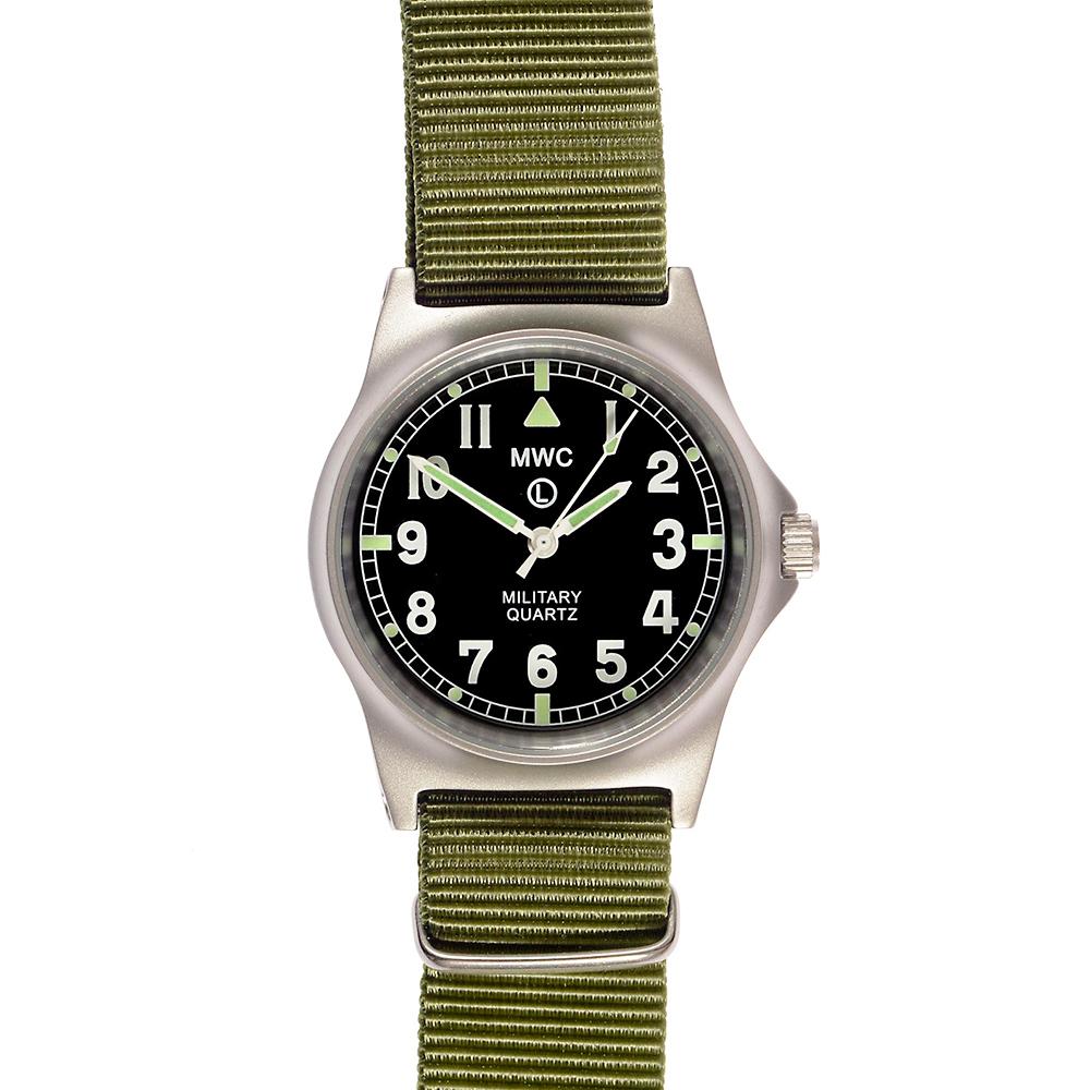 MWC瑞士軍錶 G10LM 步兵系列 橄欖綠 軍事設計錶 -黑色/35mm @ Y!購物