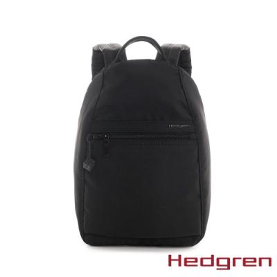 【Hedgren】INNER CITY旅行防盜 後背包-墨黑