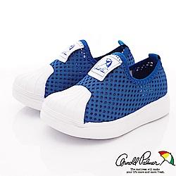 雨傘牌 專櫃針織貝殼休閒鞋款 EI93650藍(小童段)