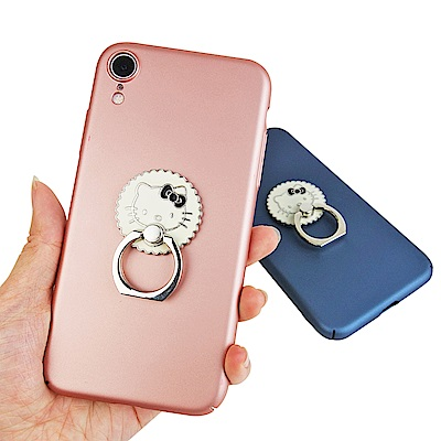 iStyle iPhone XR 6.<b>1</b>吋 Hello Kitty 餅乾派對支架手機殼