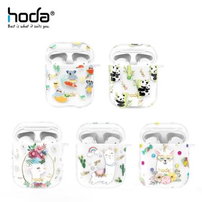 hoda Apple AirPods 1/2 透明保護殼 呆萌系列