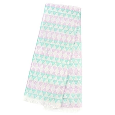 日本丸真 Eco de COOL 涼感運動毛巾 鑽石粉