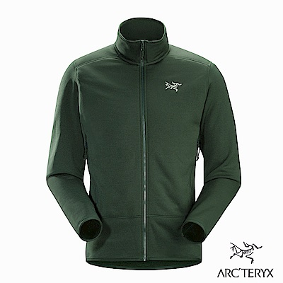 Arcteryx 男 Kyanite刷毛外套 針葉綠