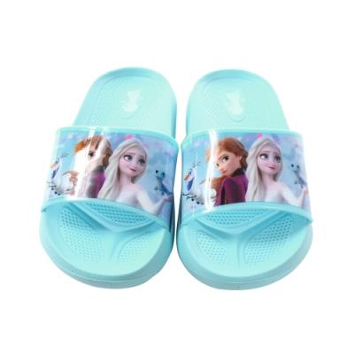魔法Baby 女童鞋 台灣製迪士尼冰雪奇緣正版舒適拖鞋 sa14016