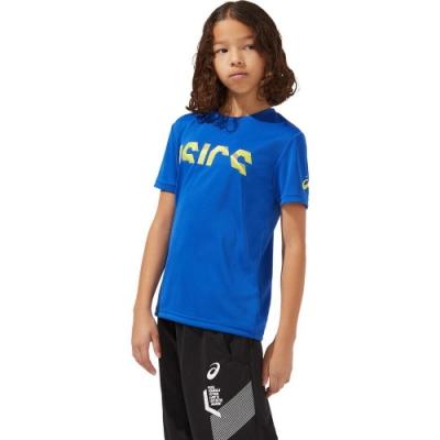 ASICS 亞瑟士 短袖上衣 兒童 童裝  2034A703-401