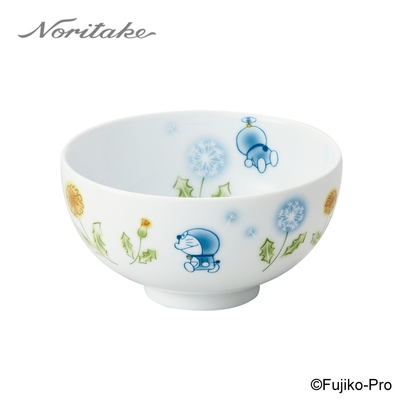 【NORITAKE】哆啦A夢-花卉系列 蒲公英飯碗 11CM