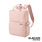 ELECOM 帆布多功能後背包S041-粉紅