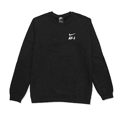 Nike 長袖T恤 NSW AF1 Crew Fleece 男款