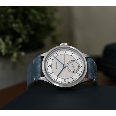 LONGINES 浪琴 Heritage 1930 復刻經典小秒針機械套錶-38.5mm (L28284732)