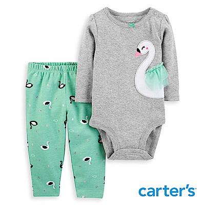 Carter's  甜美天鵝造型2件組套裝