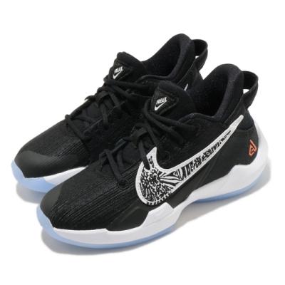Nike 籃球鞋 Freak 2 PS 運動 童鞋 明星款 字母哥 舒適 避震 球鞋 中童 黑 白 CN8576001