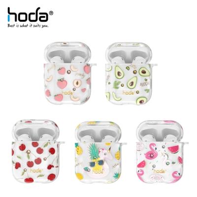 hoda Apple AirPods 1/2 透明保護殼 果園系列