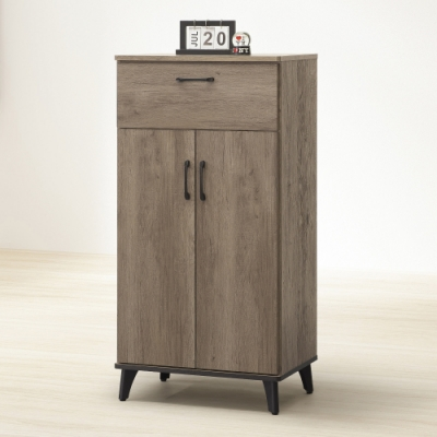 MUNA 莫可灰橡色2尺鞋櫃  60X39X119.5cm