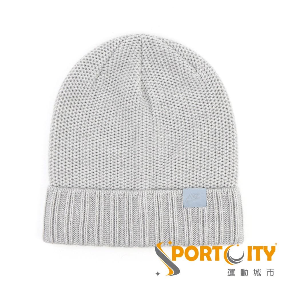 NIKE 毛帽 灰色 925417050