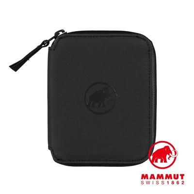 【Mammut】Seon Zip Wallet 休閒拉鍊短夾 黑色 #2810-00081