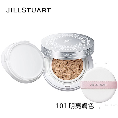 JILL STUART柔光美肌持久氣墊粉餅+粉盒+粉撲