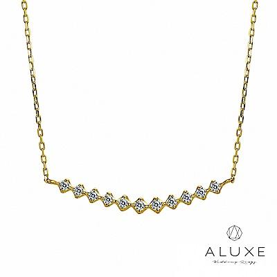 A-LUXE 亞立詩 Shine日系輕珠寶 Princess典雅美鑽項鍊