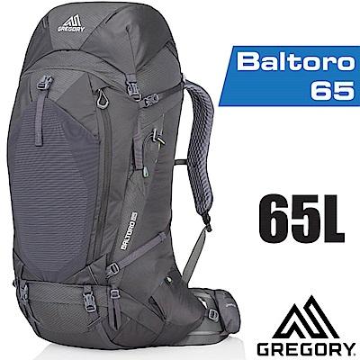 美國 GREGORY 新款 Baltoro 65 專業健行登山背包M_瑪瑙黑