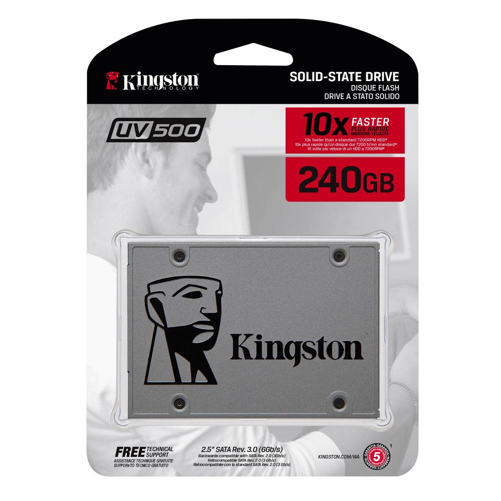 金士頓 UV500  240GB 2.5吋 SATAⅢ SSD固態硬碟