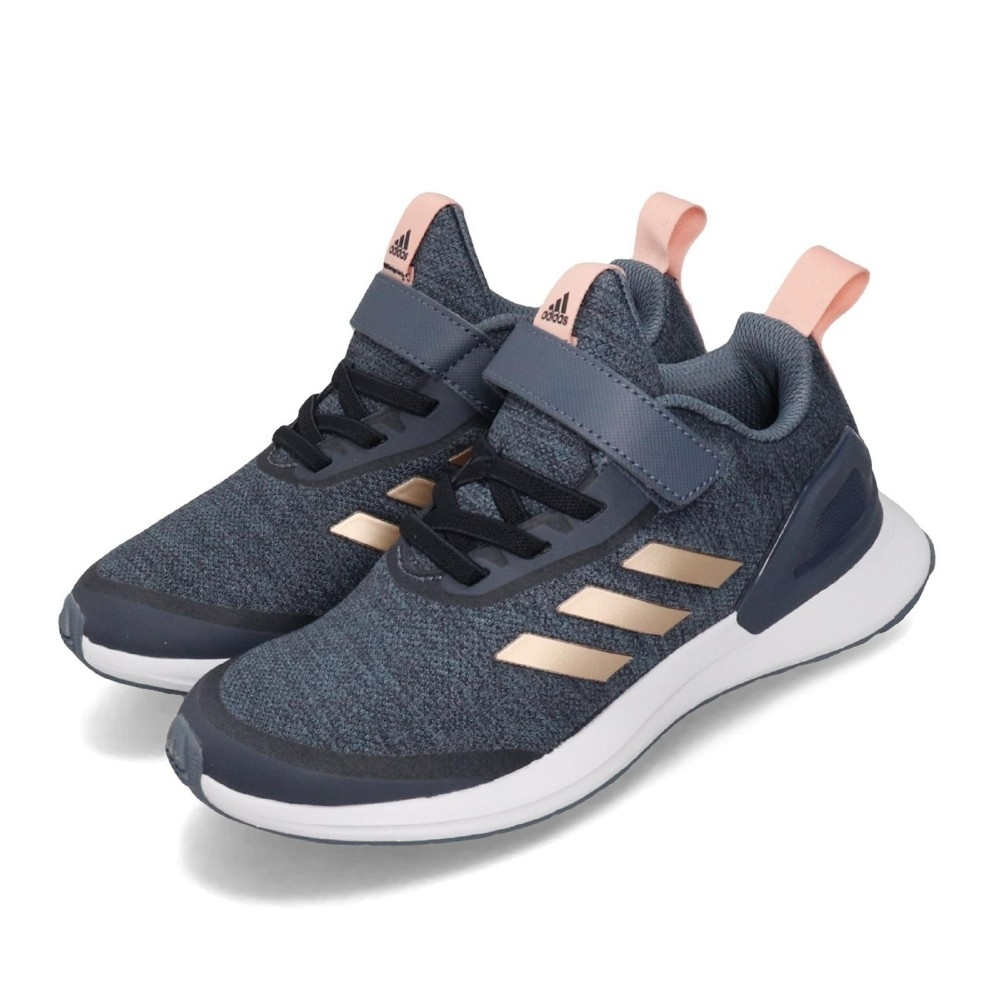 adidas 慢跑鞋 RapidaRun X EL C 童鞋
