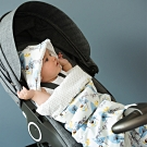 【時時樂】荷蘭 FRESK 嬰幼兒有機棉保暖睡袋(絨毛內襯)(4種款式)