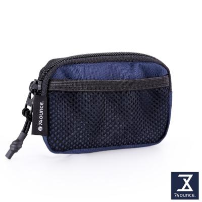 74盎司 MOBILE 行動零錢小包[N-597-MO-M]藍