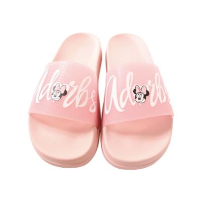 魔法Baby 女鞋 台灣製迪士尼米妮授權正版新潮時尚拖鞋sd3097