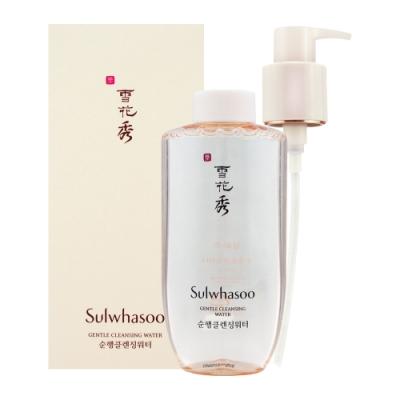 (即期品)Sulwhasoo雪花秀 淨透保濕潔膚水200ml(效期至2021年04月)