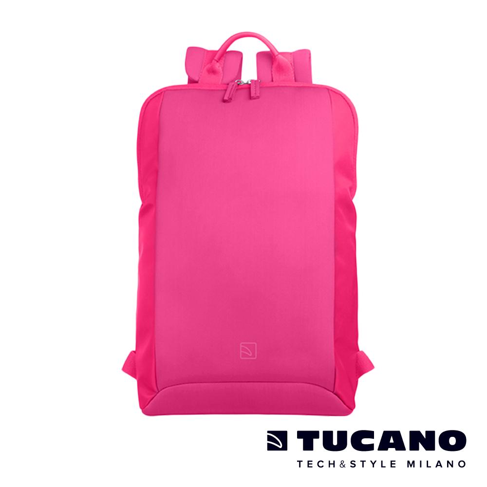 TUCANO 超輕量商務式筆電後背包-粉色
