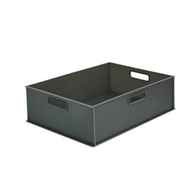 完美主義 附蓋塑膠收納盒-橫2/1款3入組/收納箱/玩具收納(2色)