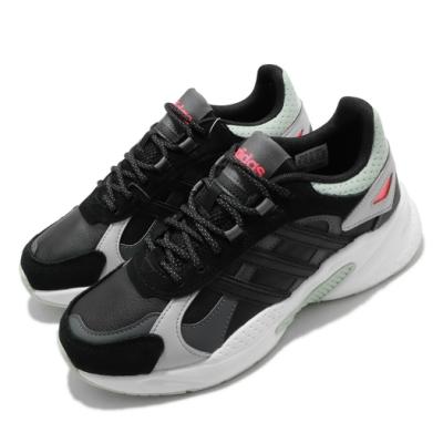 adidas 休閒鞋 Crazychaos Shadow 女鞋 愛迪達 三葉草 復古 緩震 穿搭 黑 綠 FX8891