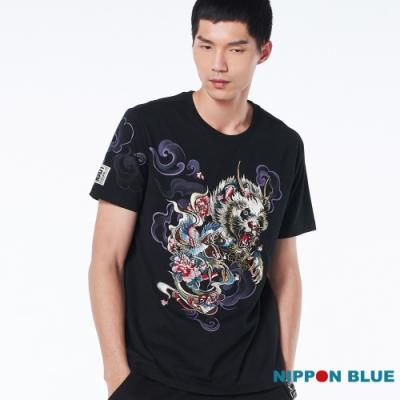 日本藍 BLUE WAY – 進口金標-網路獨家-寶葫熊貓短TEE