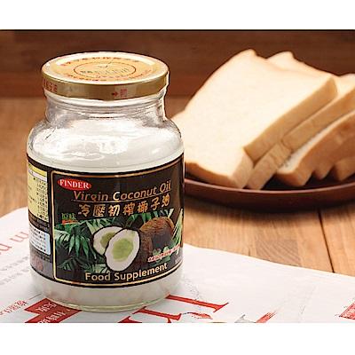 FINDER楓緣 冷壓初榨椰子油(500mlx4入)
