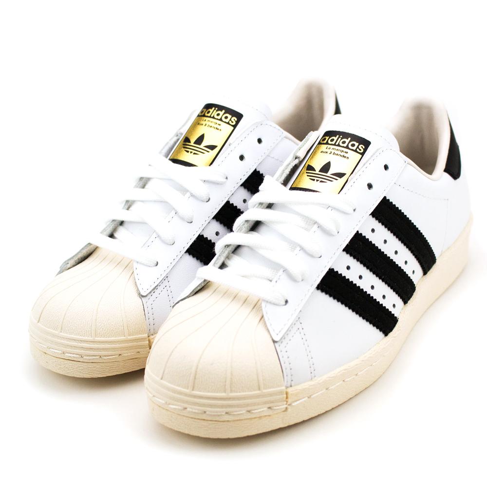 ADIDAS SUPERSTAR 80S男 女休閒鞋 G61070 白   休閒鞋  