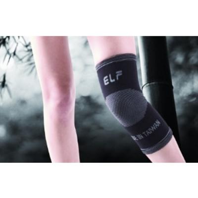 三合豐 ELF 奈米竹炭抗菌除臭專業高彈性運動護膝