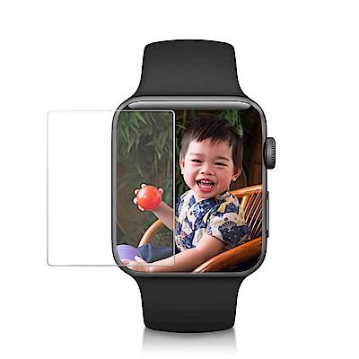 【Adep】 Apple Watch 42mm 高清鋼化玻璃螢幕保護貼