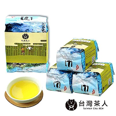 台灣茶人 香綻高海拔烏龍 4件組 1斤/4兩裝
