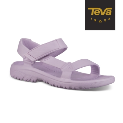 TEVA 童 Hurricane Drift 水陸輕量涼鞋-檸檬粉紅