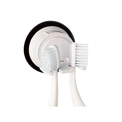 DeHUB 吸盤牙刷架(2支)